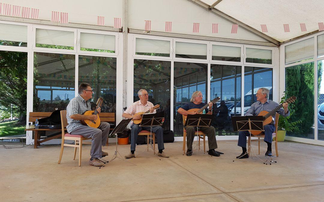 Música a càrrec del Quartet de Corda Polsada de Terres de Ponent