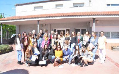 Visita dels alumnes de l'escola Episcopal